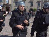 عناصر من الشرطة البولندية