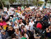 تظاهرات فى فلوريدا