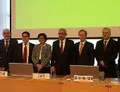 وزير التجارة خلال الاجتماعات