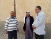 عادل فرحان رئيس قرية الوادى بطور سيناء