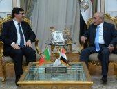 الدكتور محمد سعيد العصار يسقبل وزير الدولة للعولمة البرتغالى