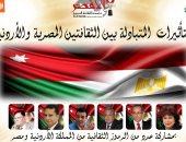 ندوة التاثيرات المتبادلة بين الثقافتين المصرية والاردن