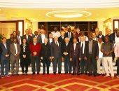 رؤساء المحاكم الدستورية والعليا الأفارقة والسكرتير عام المحافظة