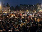 احتجاجات فى فرنسا