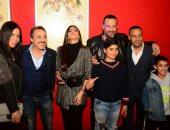 أبطال فيلم الكهف يحتفلون بالعرض الخاص