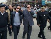 حملة مكبرة بمدينة 6 أكتوبر لإزالة الإشغالات والمخالفات