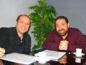 المخرج سيف يوسف والمؤلف جوزيف فوزى