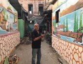 اعمال عم على تزين شوارع بورسعيد