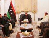 رئيس مجلس النواب الليبى المستشار عقيلة صالح يلتقى القبائل الليبية
