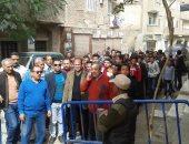 مسيرة طلاب مدرسة عبد المنعم رياض