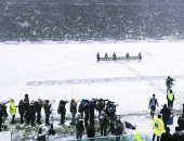 الثلوج تغطى ملعب يوفنتوس