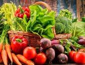 نظام غذائى غنى بالخضروات والفواكه - صورة أرشيفية
