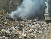 جانب من حرق القمامة - أرشيفية