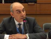 السفير علاء يوسف مندوب مصر الدائم بالأمم المتحدة