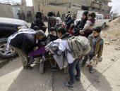 الوضع فى الغوطة- أرشيفية