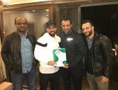 عبد الله السعيد مع تيجانا وأحمد وأمير مرتضى