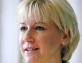 وزيرة خارجية السويد مارجوت وولستورم