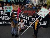 تظاهرات اليونانيين