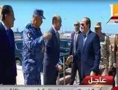 الرئيس السيسى فى بورسعيد