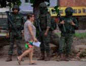 انتشار عناصر من الشرطة البرازيلية