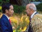 استقبال الماورى لرئيس إندونيسيا