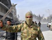 جندى بالجيش التركى فى مدينة عفرين السورية
