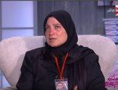 والدة الشهيد المقدم شريف محمد عمر
