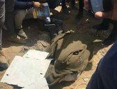 جثة طالب توفى أمام أكاديمية المستقبل