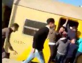 ازدحام بالقطار