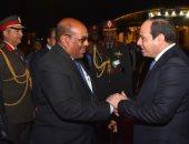 الرئيس السيسى ونظيره السودانى