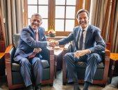 ملك الأردن ورئيس الوزراء الهولندي