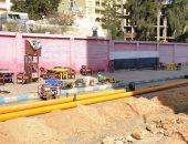 إنجاز 80% من شبكة الغاز الطبيعى للمرحلة الأولى بمدينة مرسى مطروح