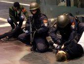 الشرطة الألمانية تمثل التعامل مع الإرهاب
