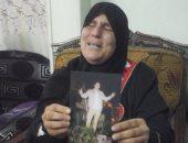 """والدة الشاب """" محمد إبراهيم"""" الذى فارق الحياة فى البدرشين"""