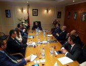 وزير قطاع الأعمال مع مجلس إدارة الشركة القابضة للصناعات المعدنية