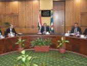 جانب من لقاء وزير البترول بالرئيس التنفيذى لشركة سنام الإيطالية