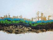 لوحة نهر السكون