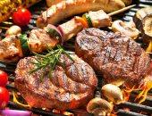 اللحوم المشوية