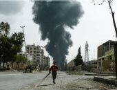 القصف علي سوريا - أرشيفية