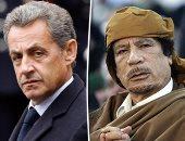 زياد تقى الدين والقذافي وساركوزي