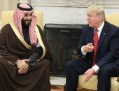 الأمير محمد بن سلمان ولى العهد السعودى والرئيس الأمريكى دونالد ترامب