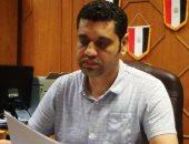 الفنان ماهر كمال رئيس الإدارة المركزية لإقليم القناه وسيناء الثقافى