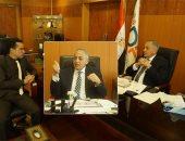 """المهندس أحمد عبد الرازق رئيس هيئة التنمية الصناعية يتحدث لـ""""اليوم السابع"""""""