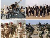 داعش والقوات العراقية