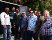 ياسر بهنس رئيس شركة تاون جاس والعاملون