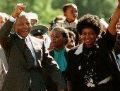 زوجة نيلسون مانديلا
