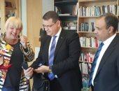 جانب من لقاءات رئيس خارجية البرلمان مع نواب المانيا