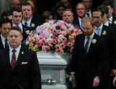 تشييع جثمان زوجة الرئيس الأمريكى الأسبق