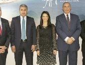 وزيرة السياحة رانيا المشاط من ملتقى دبى