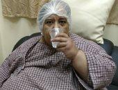 أميمة صلاح بعد 6 أيام من إجراء الجراحة